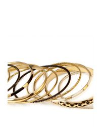 Forever 21 - Black Antiqued Bangle Set - Lyst