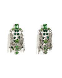Tom Binns - Multicolor Earrings with Chains in Multi - Lyst