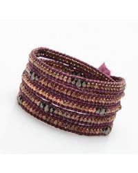 Nakamol   Multicolor Clovis Wrap Bracelet-Copper/Gunmetal   Lyst