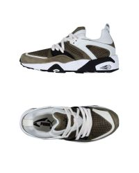 PUMA - Green Low-tops & Trainers for Men - Lyst