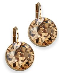 Swarovski | Bella Yellow Crystal Drops | Lyst