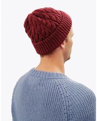 Wool And The Gang | Purple Bullitt Beanie for Men | Lyst