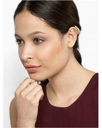 BaubleBar | Metallic Accordion Ear Cuff | Lyst