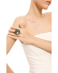 Wendy Yue   Green Grey Rose Ring   Lyst