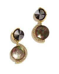Sarah Magid | Delaunay Drop Earrings, Black | Lyst