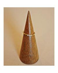 Tai | Metallic Simple Triple Ring | Lyst