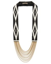 Fiona Paxton - Metallic Shona Necklace - Black - Lyst