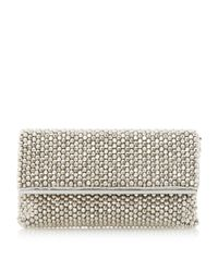 Dune | Metallic Eternity Beaded Clutch Bag | Lyst