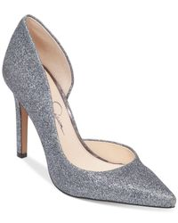 Jessica Simpson | Metallic Claudette D'orsay Pumps | Lyst