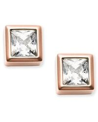 Michael Kors | Metallic Mkj4709791 Ladies Stud Earrings | Lyst