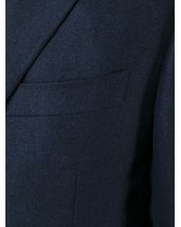 Canali - Blue Classic Blazer for Men - Lyst