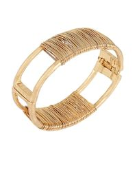 Robert Lee Morris | Metallic Spiral Jetty Wire-wrapped Bracelet | Lyst