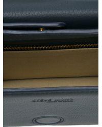 Steve Mono - Blue Leather Crossbody Bag - Lyst