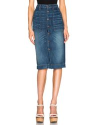 Bliss and Mischief - Blue Betty Skirt - Lyst