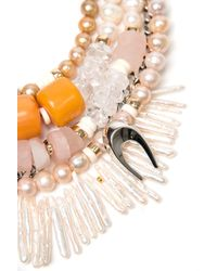 Lizzie Fortunato - Multicolor Bohemian Glam Necklace - Lyst