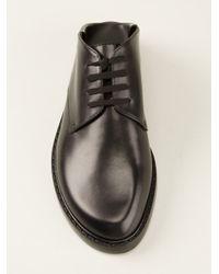 Ann Demeulemeester - Black Laceup Shoe - Lyst