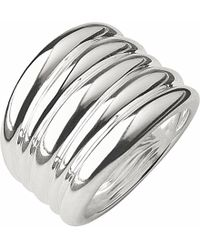 Links of London - Metallic Hope Sterling Silver Wide Ring - Lyst