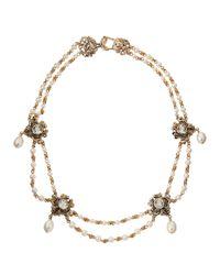 Stephen Dweck - Metallic Victorian Amethyst & Pearl Necklace - Lyst