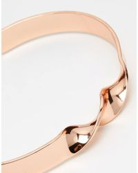 ASOS - Multicolor Bangle Pack In Rose Gold And Black for Men - Lyst