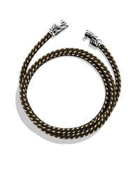 David Yurman | Yellow Chevron Triple-wrap Bracelet for Men | Lyst
