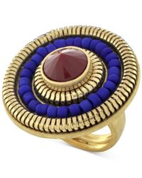 Vince Camuto - Metallic Gold-tone Circle Ring - Lyst