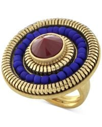 Vince Camuto | Metallic Gold-tone Circle Ring | Lyst