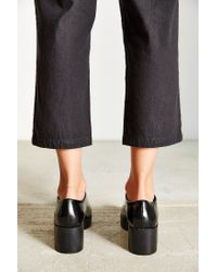 Silence + Noise - Black Chunky Lace-up Oxford - Lyst