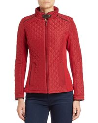 Weatherproof | Red Quilted Jacket | Lyst