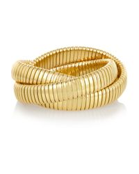 Sidney Garber | Metallic Rolling 18-Karat Gold Interlinked Bracelet | Lyst