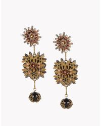 DSquared² | Metallic Alanis Earrings | Lyst
