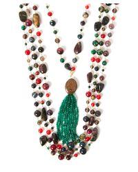 Rosantica - Multicolor Multicolour Quartz Multi-strand Necklace - Lyst