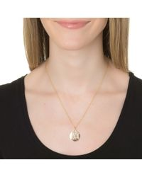 Sarah Chloe | Metallic Sophia Necklace | Lyst