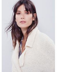 Free People - Natural Addicted To You Jacket - Lyst