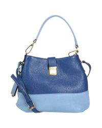 Miu Miu - Blue Shoulder Bag - Lyst