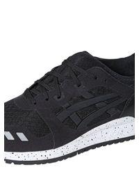 Asics | Black Gel-lyte Iii Mesh Sneakers | Lyst
