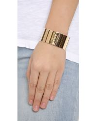 Kristen Elspeth - Metallic Gold Cuff - Lyst
