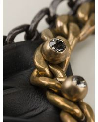 Lanvin - Metallic 'taliska' Necklace - Lyst