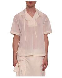 Björn Borg - White Nylon Shirt for Men - Lyst