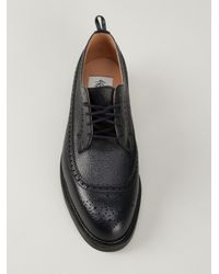 Black Fleece By Brooks Brothers - Blue Blucher Shoe for Men - Lyst