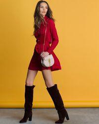 Marissa Webb - Red Heidi Safari Shirtdress - Lyst