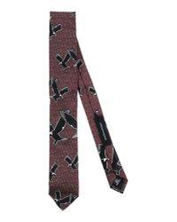 Kris Van Assche - Purple Tie for Men - Lyst