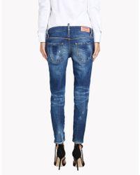 DSquared² - Blue Deana Jeans - Lyst