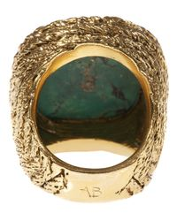 Aurelie Bidermann | Green Miki Chunky Ring | Lyst