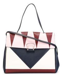Valentino - Blue 'rockstud' Crossbody Bag - Lyst