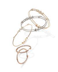 Paul Morelli | Metallic Diamond Confetti Single Wire Bracelet | Lyst