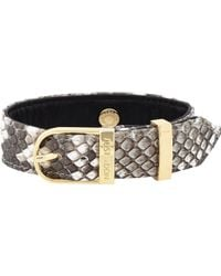 Just Don | Multicolor Studded Python Bracelet for Men | Lyst
