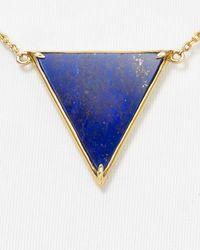 Elizabeth and James - Blue Apollo Pendant Necklace 16 - Lyst