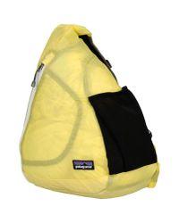Patagonia - Yellow Rucksacks & Bumbags for Men - Lyst