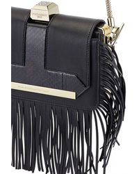 Azzaro | Black Vendôme Chaine Shoulder Clutch | Lyst