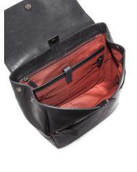 Ferragamo - Black Multi-pocket Backpack for Men - Lyst
